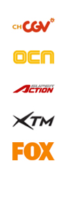 ch-cgv, ocn,super Action, XTM, FOX