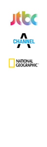 JTBC,channel A, national geographic